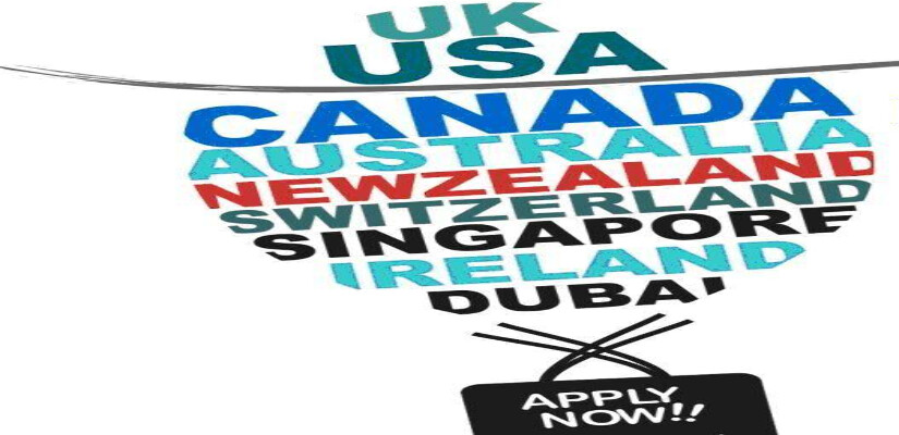 Applications for USA, CANADA,UK,SINGAPORE