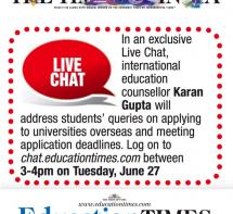 Education Times Live Chat